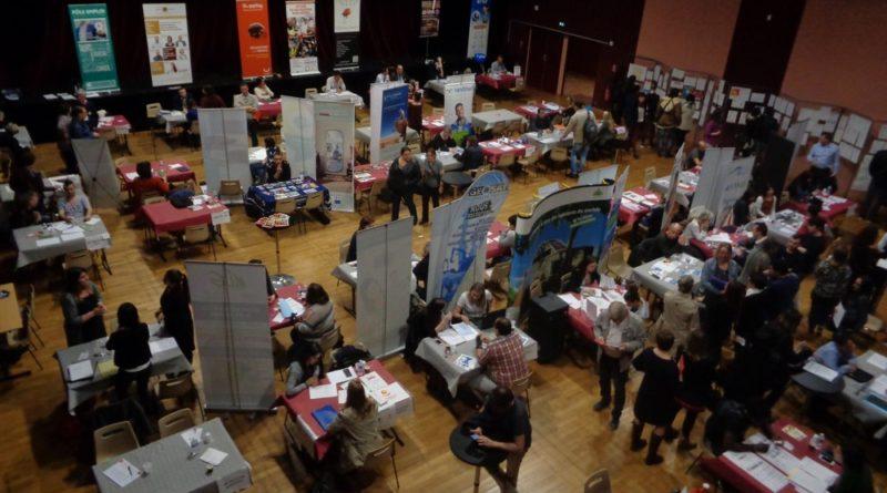 Plus de 500 participants, 120 offres d'emplois et 48 recruteurs aux rencontres de l'Emploi 2018 du CE2C