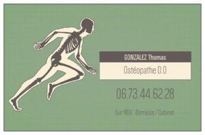 Gonzalez Thomas - Ostéopathe D.O au sein du Pôle Santé Réjouit